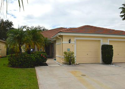 Palm City Single Family Home For Sale: 3877 SW Whispering Sound Drive