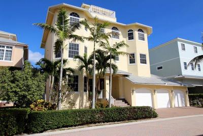 Jupiter Single Family Home For Sale: 145 Ocean Key Way