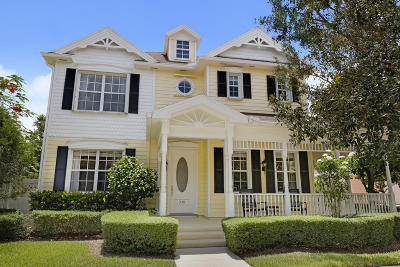 Jupiter Single Family Home For Sale: 330 Marlberry Circle