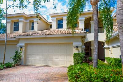 North Palm Beach Townhouse For Sale: 715 Cable Beach Lane