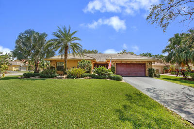 Coral Springs Single Family Home Contingent: 4721 NW 98th Way