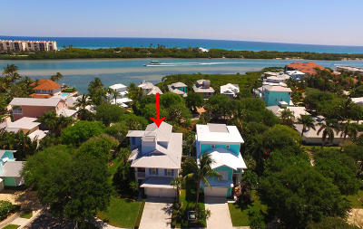 Single Family Home Sold: 121 Intracoastal Circle