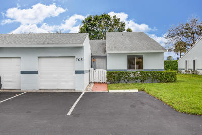 West Palm Beach FL Single Family Home For Sale: $136,900