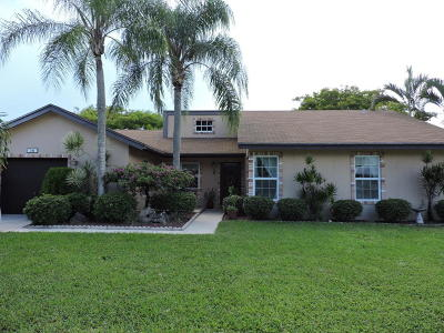 Boynton Beach Single Family Home For Sale: 741 NW 10th Court