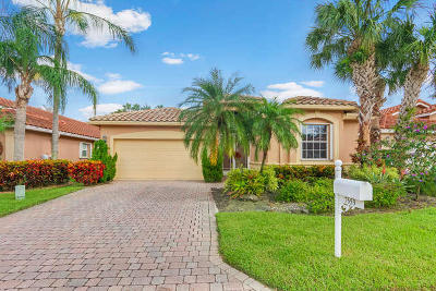 Boynton Beach Single Family Home For Sale: 7553 Caprio Drive