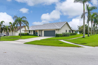Boynton Beach Single Family Home For Sale: 9718 Sun Pointe Drive