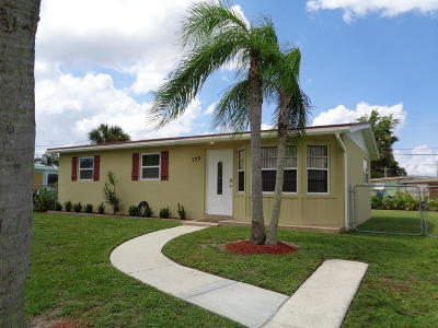 Royal Palm Beach Single Family Home Contingent: 739 Orchid Drive