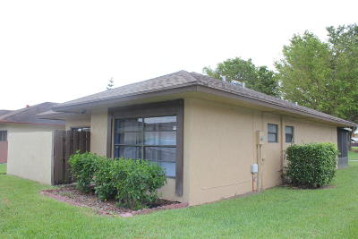 West Palm Beach FL Single Family Home For Sale: $185,000