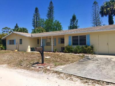 Jensen Beach Single Family Home For Sale: 1065 NE Banyan Tree Drive