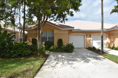 Delray Beach Single Family Home For Sale: 2507 Coral Trace Place Place