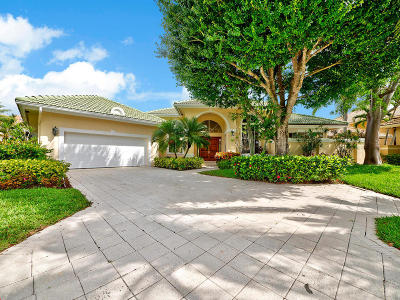 Palm Beach Gardens Single Family Home For Sale: 20 Saint James Drive