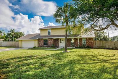 Palm Beach Gardens Single Family Home Contingent: 11024 Monet Terrace