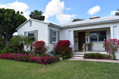 West Palm Beach Single Family Home For Sale: 317 Granada Road
