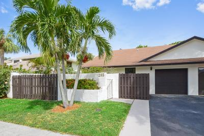 Delray Beach Single Family Home For Sale: 295 SW 29th Avenue