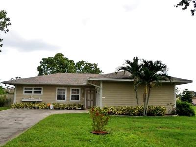 Port Saint Lucie Single Family Home For Sale: 1933 SE Sandia Drive
