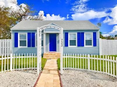 West Palm Beach Single Family Home For Sale: 733 Green Street