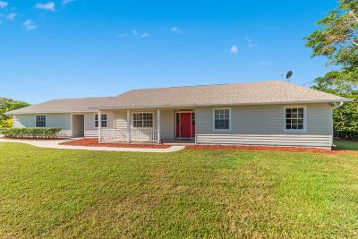 Stuart Single Family Home For Sale: 4456 SE Tribout Lane