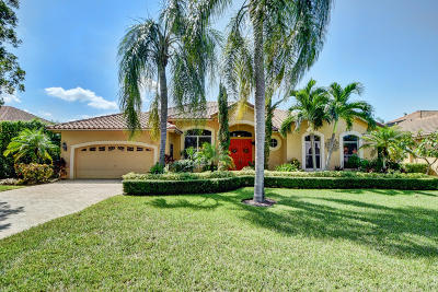 Boca Raton Single Family Home For Sale: 6169 Vista Linda Lane