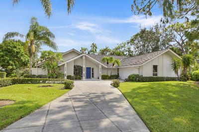 Palm Beach Gardens Single Family Home For Sale: 4 Alford Court