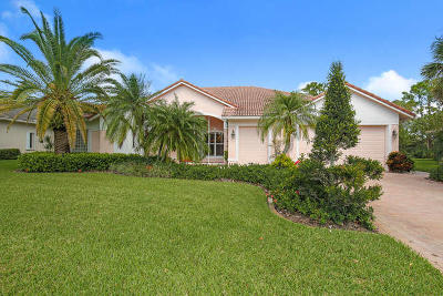 Hobe Sound Single Family Home For Sale: 5201 SE Lost Lake Way