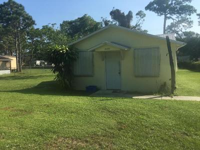 Stuart Single Family Home For Sale: 5271 SE Kingfish Avenue #5281
