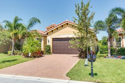 Boynton Beach Single Family Home For Sale: 11699 Mantova Bay Circle