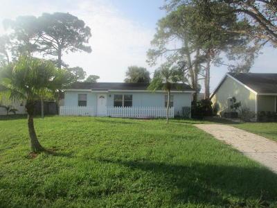 Jupiter Single Family Home For Sale: 6180 Kendrick Street