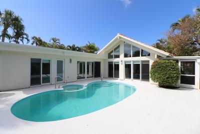 Jupiter Single Family Home For Sale: 107 Amberjack Lane
