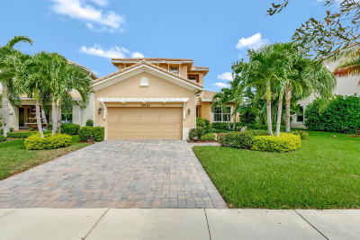 Palm Beach Gardens Single Family Home For Sale: 12224 Aviles Circle