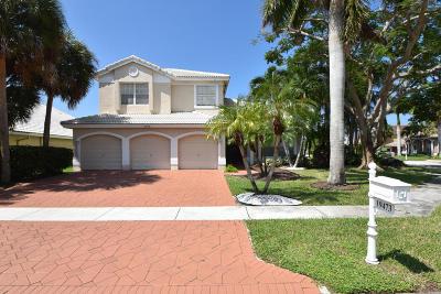 Boca Raton Single Family Home For Sale: 19473 Preserve Drive