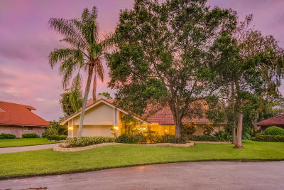 Palm Beach Gardens Single Family Home For Sale: 7 River Chase Terrace