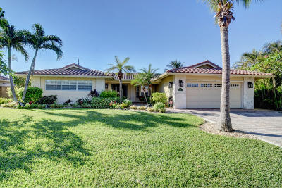 Palm Beach County Single Family Home For Sale: 784 Cordova Drive