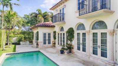 Palm Beach Single Family Home For Sale: 241 Fairview Road