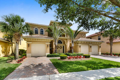 West Palm Beach Single Family Home For Sale: 598 Edgebrook Lane