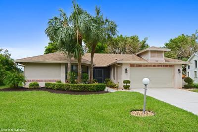 Delray Beach Single Family Home For Sale: 16621 Boca Delray Drive
