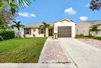 Jupiter Single Family Home Contingent: 169 Greentree Circle