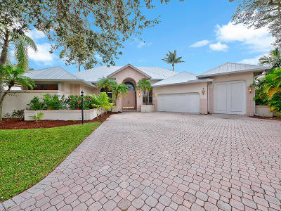Jupiter Single Family Home For Sale: 19035 SE Coral Reef Lane