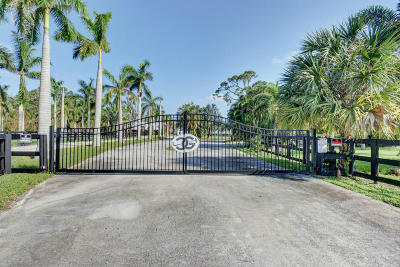 Loxahatchee Single Family Home For Sale: 13053 Bryan Road
