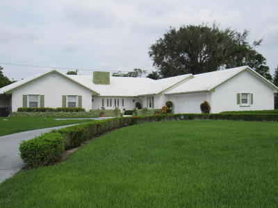 Delray Beach Single Family Home For Sale: 3721 Sherwood Blvd