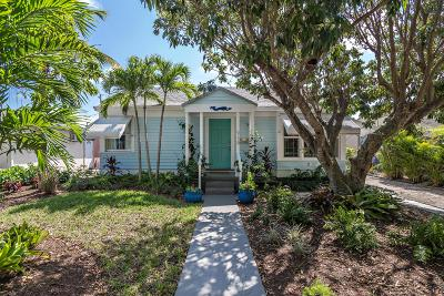West Palm Beach Single Family Home For Sale: 918 Sunset Road