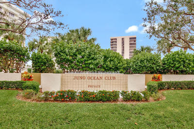 Juno Beach Condo For Sale: 450 Ocean Drive #304