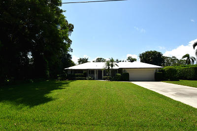 Stuart Single Family Home For Sale: 1440 NW Lakeside Trail