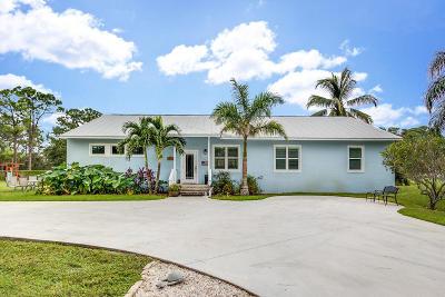 Royal Palm Beach Single Family Home For Sale: 5530 Mango Boulevard
