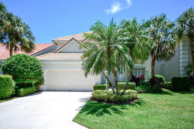 Palm Beach Gardens Single Family Home For Sale: 13 Princewood Lane
