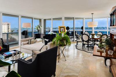 West Palm Beach Condo For Sale: 1617 Flagler Drive #7b