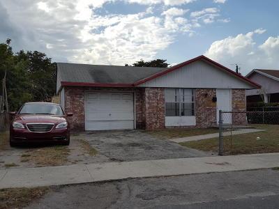 Pompano Beach Single Family Home For Sale: 871 NW 5th Avenue