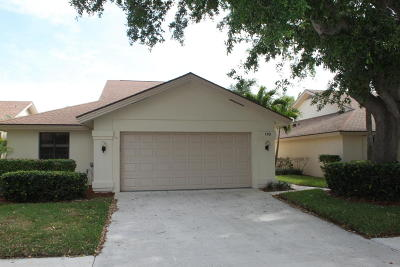Jupiter Single Family Home For Sale: 110 Inner Harbour Way