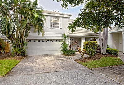 Palm Beach Gardens Single Family Home For Sale: 9 Commodore Place