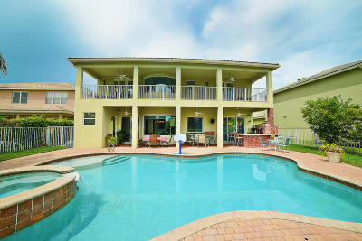 Delray Beach Single Family Home For Sale: 15614 Messina Isle Court