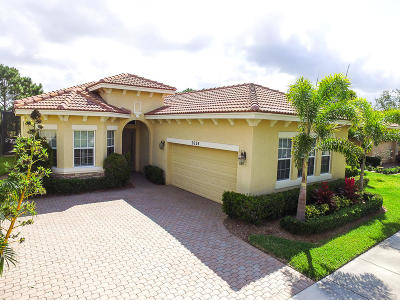 Port Saint Lucie Single Family Home For Sale: 9624 SW Nuova Way